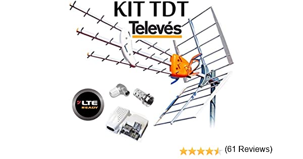 KIT ANTENA TELEVES BOSS 790 HD CON FILTRO LTE Y PREVIO MRD ...