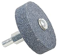"Forney 72415 Grinding Stone, Cylindrical with 1/4"" Shank, 2"" by 1/2"""