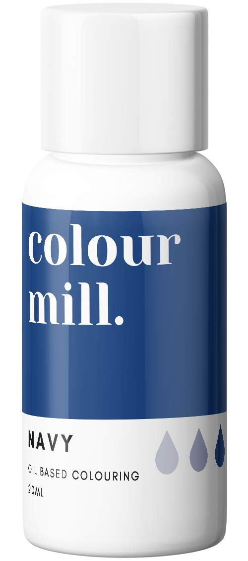 Colour Mill Oil-Based Food Coloring, 20 Milliliters Navy