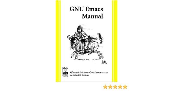 5aa41535b Amazon.com  GNU Emacs Manual