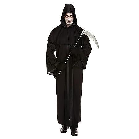 Sensenmann-Kostüm für Herren - Halloween-Kostüm - mit Umhang