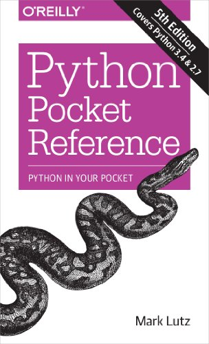Best-selling Python Pocket Reference:
