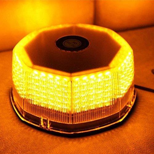 Lumcrissy NEW Bright 240 LED Truck Vehicle Car Roof Top Flash Strobe Emergency Warning Hazard Warning Light (Amber) (Automotive Strobe Lighting)