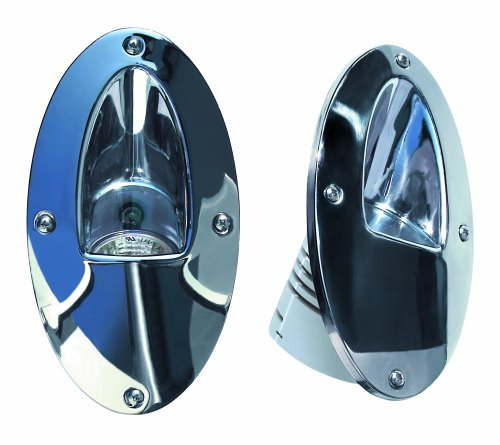 (Aqua Signal Stainless Steel Compact Docking Lights)