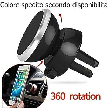 DOBO - Soporte magnético de Coche para Smartphone, para Dispositivos universales, Color Negro, Gancho para Toma de Aire móvil, magnético, Boquilla de Aire para Ahorrar Espacio: Amazon.es: Electrónica