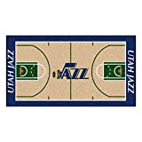 FANMATS NBA Utah Jazz Nylon Face NBA Court Runner-Large