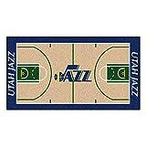 FANMATS NBA Utah Jazz Nylon Face NBA Court Runner-Large