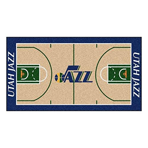 FANMATS NBA Utah Jazz Nylon Face NBA Court Runner-Large by Fanmats