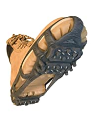 Stabilicers walk Traction Cleats, Large Men 10.5-13, Black