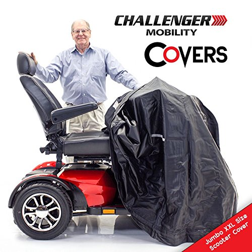 Challenger Mobility CMC-318 Jumbo Cover for Extra Large Scooter, Heavy Duty Light Vinyl, ()