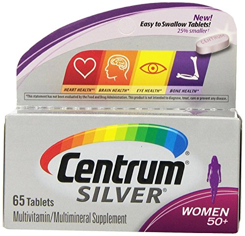 Cheap (2 Pack) Centrum Silver Women's Multivitamin Supplement, 65 Count each