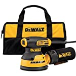 DEWALT DWE6423K 5-In Random Orbit Variable Speed Sander with H and L Pad
