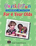 Quick and Fun Learning Activities for 4 Year Olds, Marla Pender McGhee, 1557345570