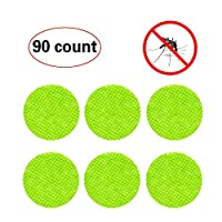 90-COUNT Mosquito Repellent Patch Keeps Insects and Bugs Far Away, Simply Apply to Skin and Clothes , Adult, Kid and Pet-Friendly from YHmall