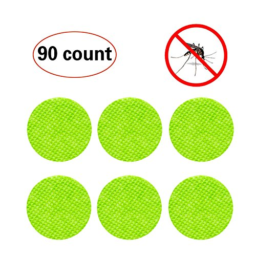 90 Count, Mosquito Repellent Patch keeps Insects and Bugs Far Away, Simply Apply to Skin and Clothes, Adult, Kid and (Pets Super Sticker)