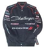 Dodge Challenger Embroidered Cotton Twill Jacket Size Medium