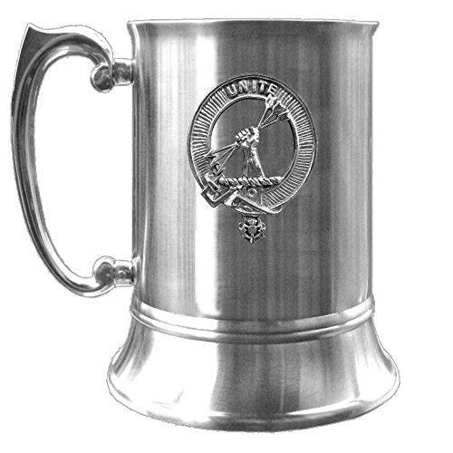 Brodie Scottish Clan Crest Pewter Badge Tankard ()