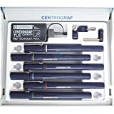 Centropen CENTROGRAF 9070/6 set of technical pens cored, 9070 EN - 6