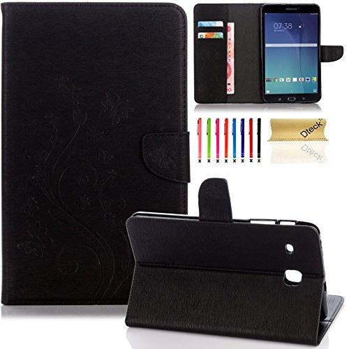 Super Slim Cover for Samsung Galaxy Tab A 8-Inch Tablet (Black) - 9