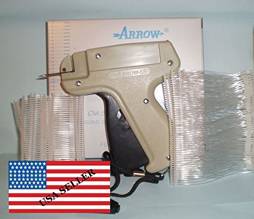 CLOTHING GARMENT PRICE LABEL TAGGING TAG TAGGER GUN + 1000 PINS by Arrow (Image #1)