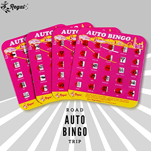 Regal Games Original Travel Bingo 4 Packs