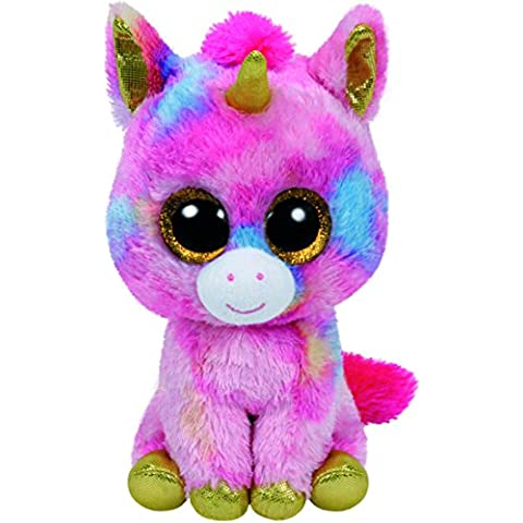 8b6ee6ee26a TY Beanie Boos - FANTASIA the Unicorn (Glitter Eyes) (LARGE Size - 17 inch)