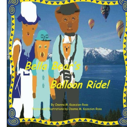 Bella Bear's Balloon Ride!