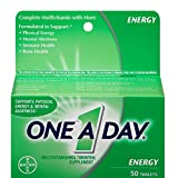 One-A-Day All Day Energy Tablets 50 Tablets ( Pack of 3)