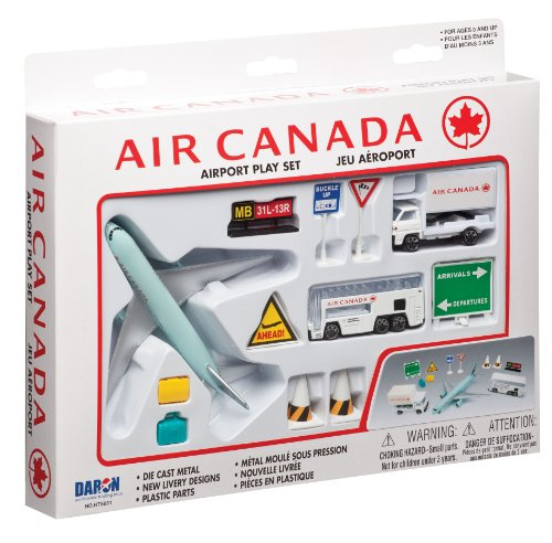 Air Canada Model - Daron Air Canada Airport Playset 12-Piece