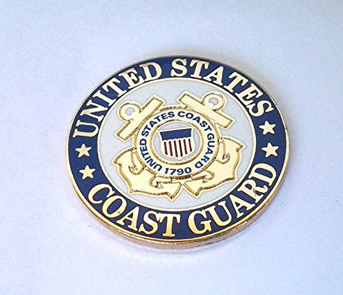 Buy eagle emblem united states coast guard veteran pin