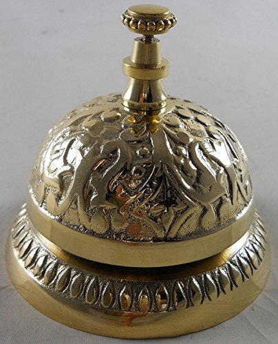 - Solid Brass Desk Ring For Service Call Bell