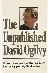 Unpublished David Ogilvy Hardcover