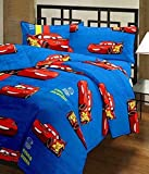 Frabjous Cars Printed Polycotton Double Bed Reversible Ac Dohar/Blanket/Quilt For Kids(Red)