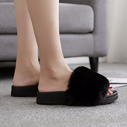 tide and wear Women cool XZ high Black Summer fashion slippers LIUXINDA heels qxSgHx