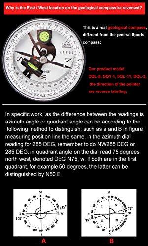 Harbin Geological Compass DQL 8