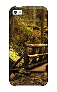 Premium Iphone 5c Case - Protective Skin - High Quality For Wooden Bridge