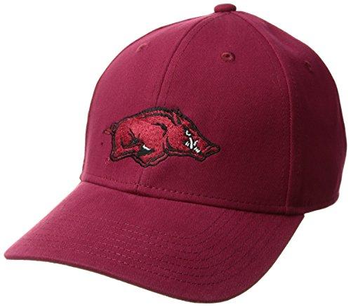 NCAA Arkansas Razorbacks Children Cinch Ots All-Star MVP Adjustable Hat, Kids, Dark Red