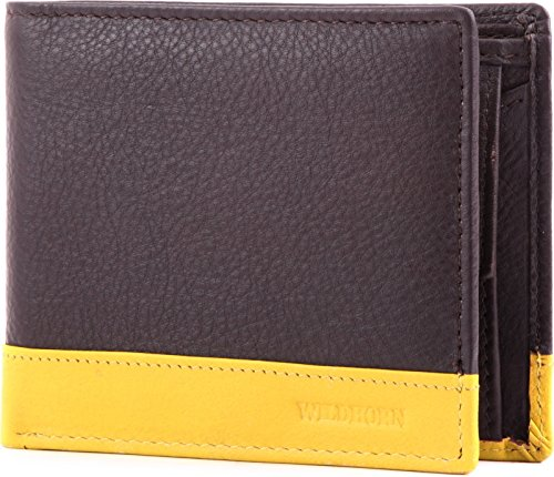 WildHorn WH922 Black mens wallet