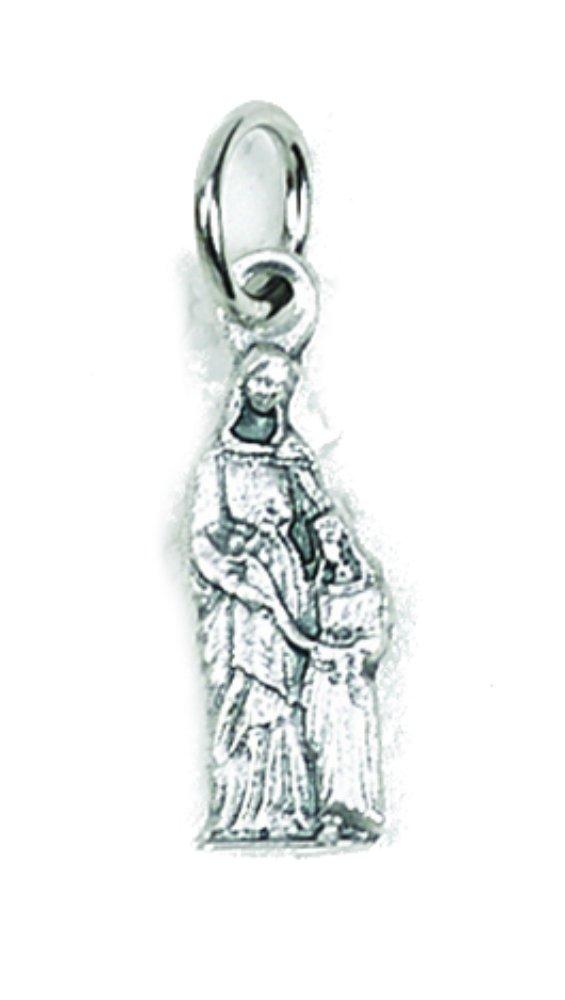 St. Anne tiny medal charm