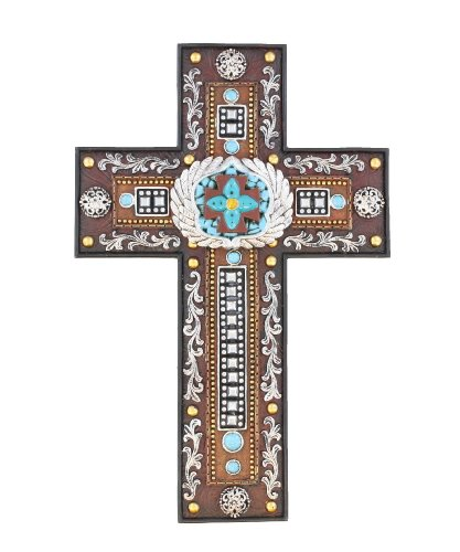 LL Home Cross with Scrolls and - Western Cross Wall