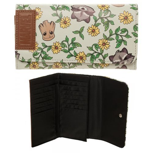 Guardians of The Galaxy Groot and Rocket Floral Flap - Galaxy Of The Gifts Guardians