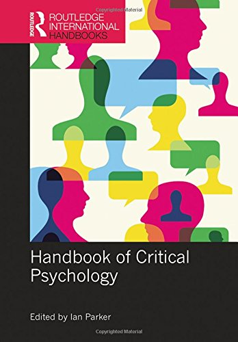 Handbook of Critical Psychology (Routledge International Handbooks)