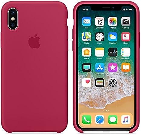 El último Verano iPhone X Funda, Slim Líquido de Silicona Gel Carcasa Anti-Rasguño y Resistente Huellas Dactilares Totalmente Protectora Caso Cover Case para iPhone X (5.8