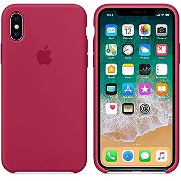 El último Verano iPhone X Funda, Slim Líquido de Silicona Gel Carcasa Anti-Rasguño y Resistente Huellas Dactilares Totalmente Protectora Caso Cover ...
