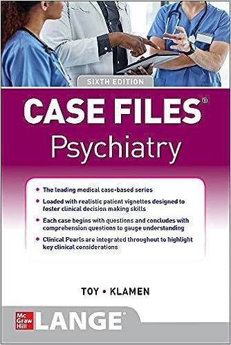 Case Files Psychiatry, Sixth Edition - Original PDF