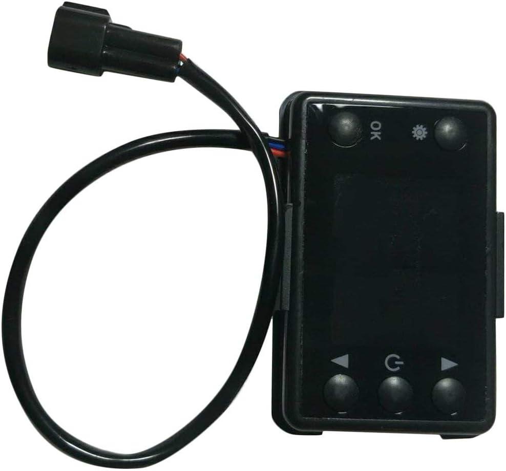 Pudincoco 12V 24V 3 5KW LCD Moniteur Chauffage de stationnement Commutateur de Dispositif de Chauffage de Voiture Universel pour Le Chauffage de la Piste de Voiture