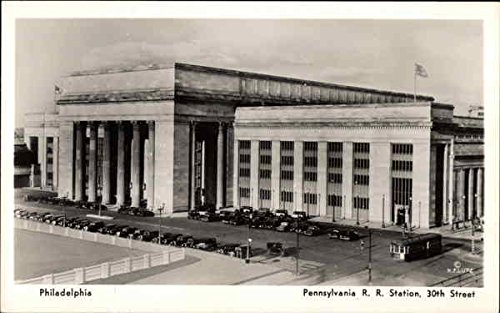 30th Street Station - Pennsylvania RR Station, 30th Street Philadelphia Original Vintage Postcard
