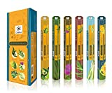 Chakra Aromatherapy Natural Incense Sticks - Promotes Health and Well being - 20 Sticks per Box - Enhances Quality of Life - Long Lasting 120 Aroma Sticks - Pack Of 6