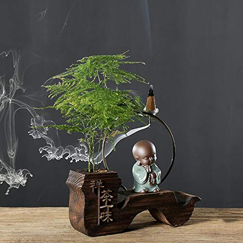 Incense Burner Backflow Environmentally Friendly Wood (conical) for Home Decoration by Incense Burner (Image #4)