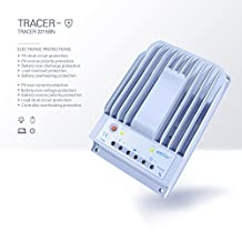 MPPT 40A Solar Charge Controller 150V PV input Tracer 4215BN Negative Ground (40 A)